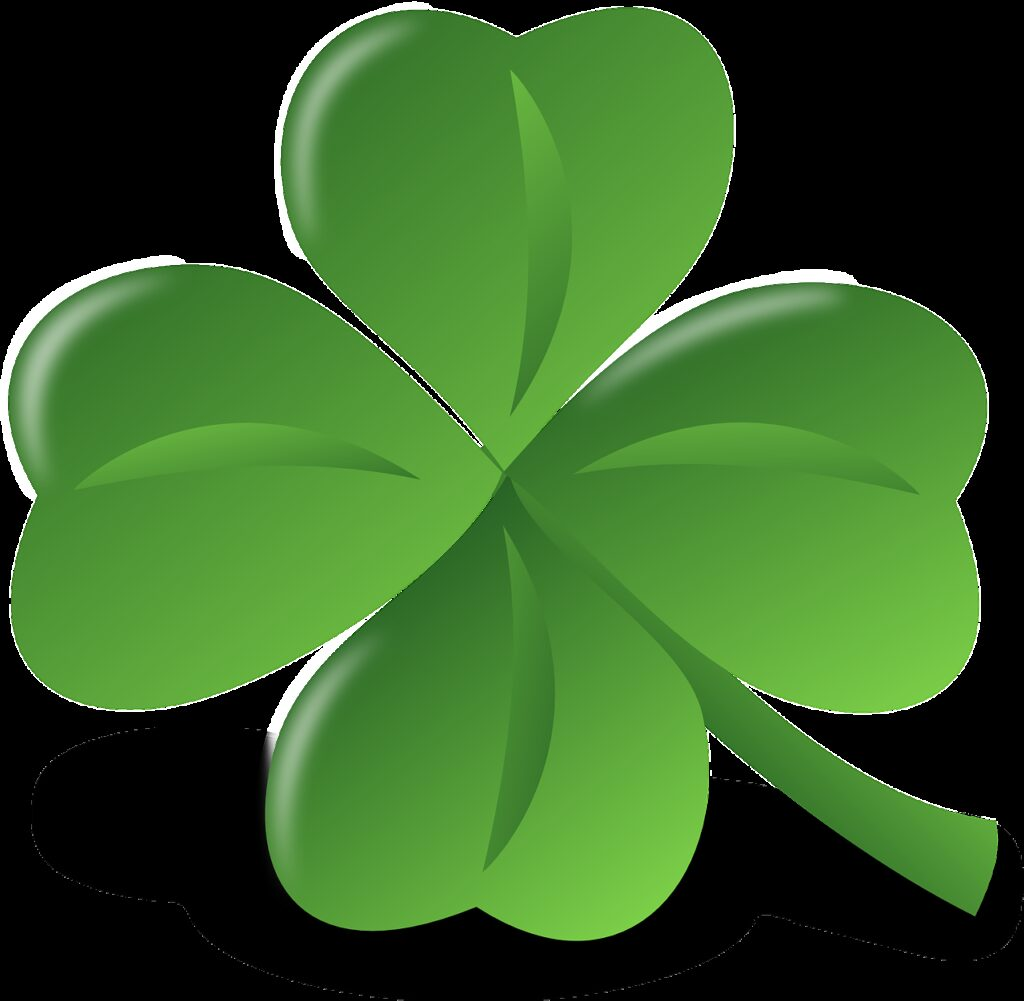 leaf, four-leaf clover, lucky